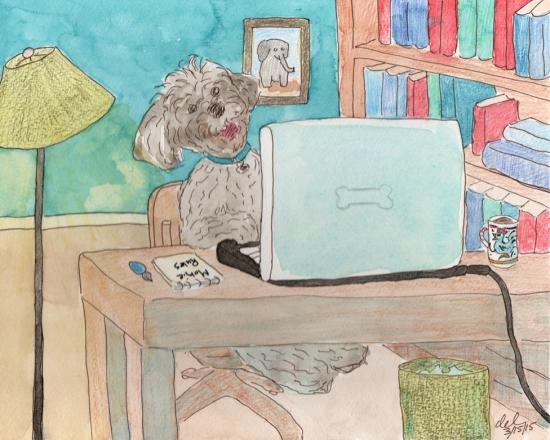 Mokie's Webinar - watercolor and ink