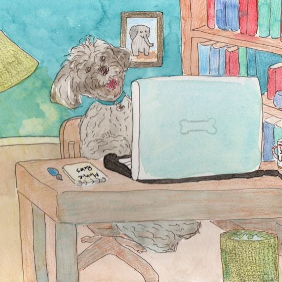 Mokie's Webinar - watercolor and ink